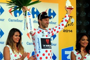 """Now I am officially the biggest climber in the Tour de France.""  -Jens Voigt"