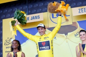 First Endurance Rider Fabian Cancellara takes Yellow at Tour de France!